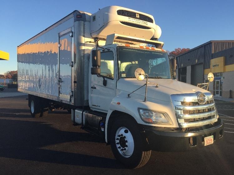 Reefer Truck-Light and Medium Duty Trucks-Hino-2011-338-NORTON-MA-175,970 miles-$33,250