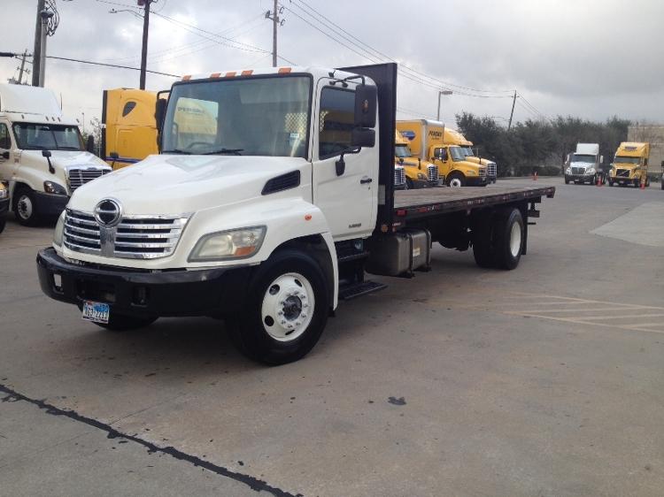 Flatbed Truck-Light and Medium Duty Trucks-Hino-2010-268-ODESSA-TX-229,545 miles-$26,500