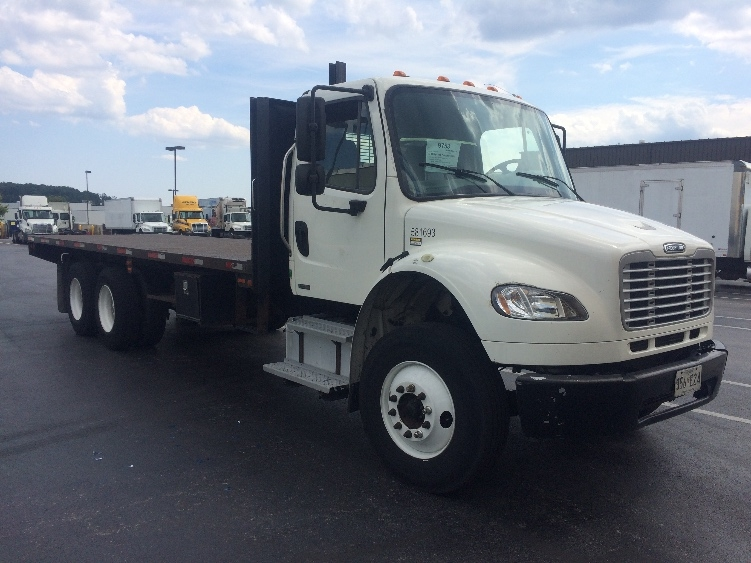 Flatbed Truck-Light and Medium Duty Trucks-Freightliner-2011-M2-BALTIMORE-MD-267,760 miles-$31,250