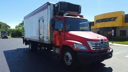Reefer Truck-Light and Medium Duty Trucks-Hino-2010-338-SWEDESBORO-NJ-112,000 miles-$31,750