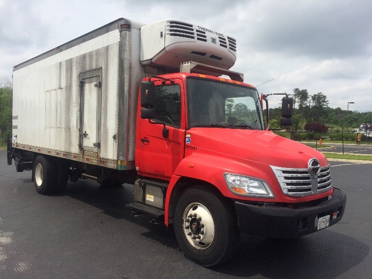 Reefer Truck-Light and Medium Duty Trucks-Hino-2010-338-JESSUP-MD-151,736 miles-$26,250
