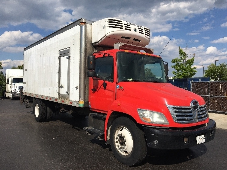 Reefer Truck-Light and Medium Duty Trucks-Hino-2010-338-JESSUP-MD-120,681 miles-$30,000