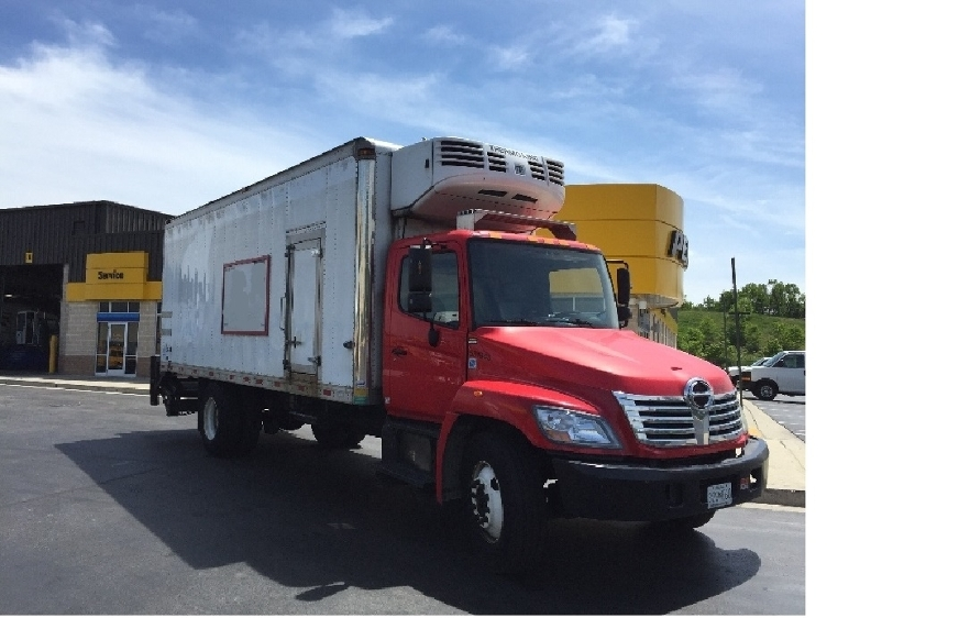 Reefer Truck-Light and Medium Duty Trucks-Hino-2010-338-JESSUP-MD-115,180 miles-$34,000