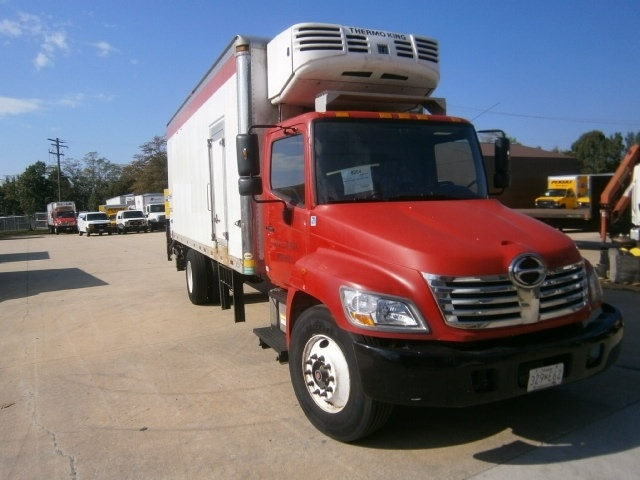 Reefer Truck-Light and Medium Duty Trucks-Hino-2010-338-JESSUP-MD-114,138 miles-$35,750
