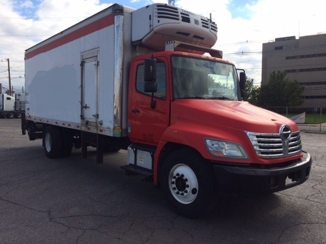 Reefer Truck-Light and Medium Duty Trucks-Hino-2010-338-LINDEN-NJ-160,477 miles-$33,750