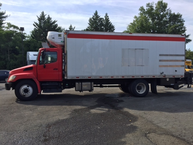 Reefer Truck-Light and Medium Duty Trucks-Hino-2010-268-CHARLOTTESVILLE-VA-202,466 miles-$26,500