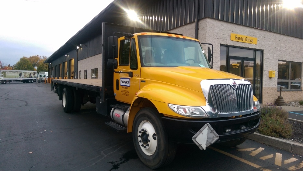 Flatbed Truck-Light and Medium Duty Trucks-International-2011-4300-ALBANY-NY-143,785 miles-$24,000