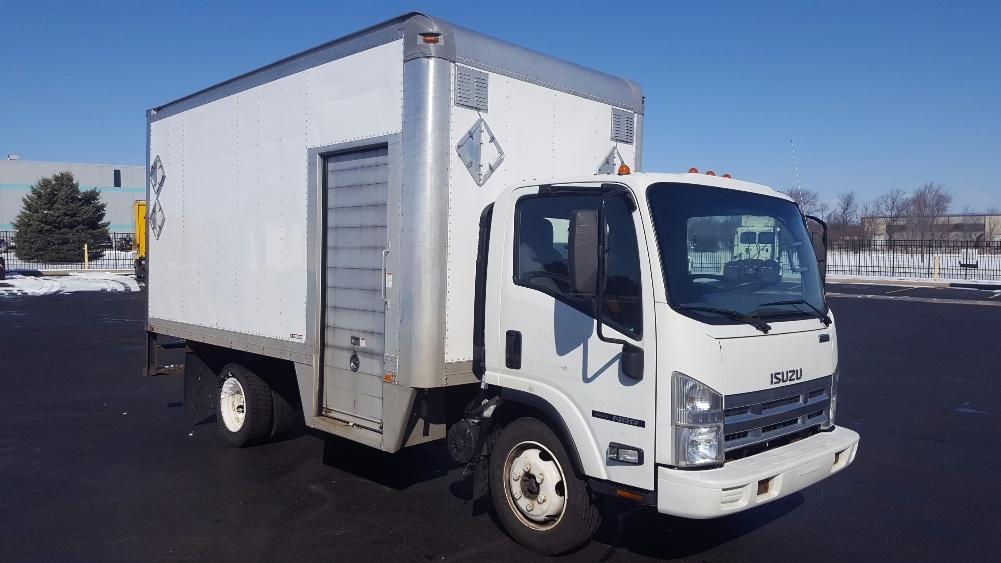 Medium Duty Box Truck-Light and Medium Duty Trucks-Isuzu-2010-NRR-SOUTH BEND-IN-122,837 miles-$26,000