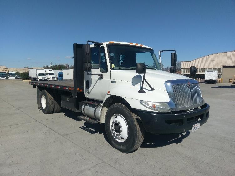 Flatbed Truck-Light and Medium Duty Trucks-International-2011-4300-SANTA CLARA-CA-112,233 miles-$38,000