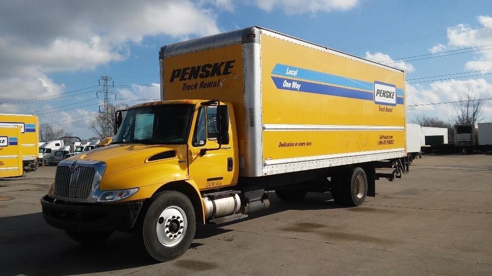 Medium Duty Box Truck-Light and Medium Duty Trucks-International-2011-4300-ALLEN PARK-MI-208,360 miles-$21,750