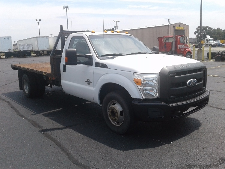Flatbed Truck-Light and Medium Duty Trucks-Ford-2011-F350-ELKHART-IN-171,802 miles-$16,750