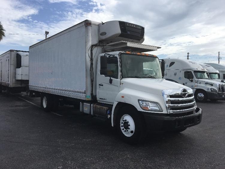 Reefer Truck-Light and Medium Duty Trucks-Hino-2011-268-ORLANDO-FL-117,785 miles-$42,500