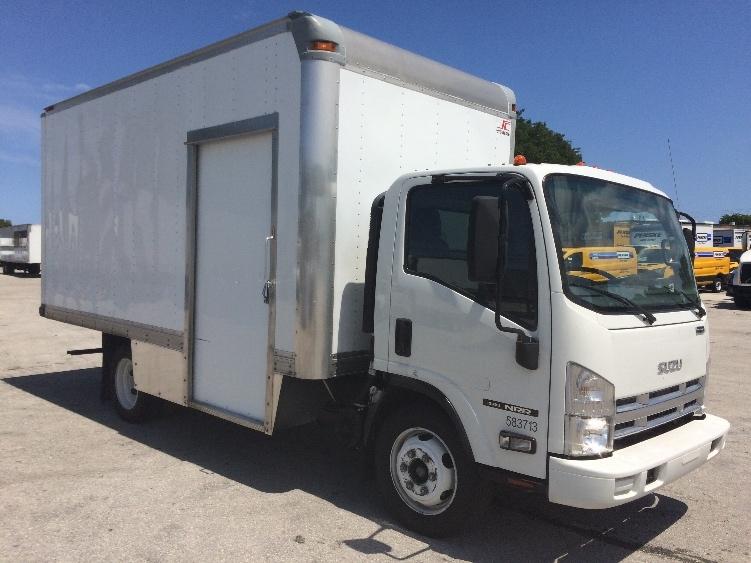 Medium Duty Box Truck-Light and Medium Duty Trucks-Isuzu-2010-NRR-POMPANO BEACH-FL-186,330 miles-$20,500