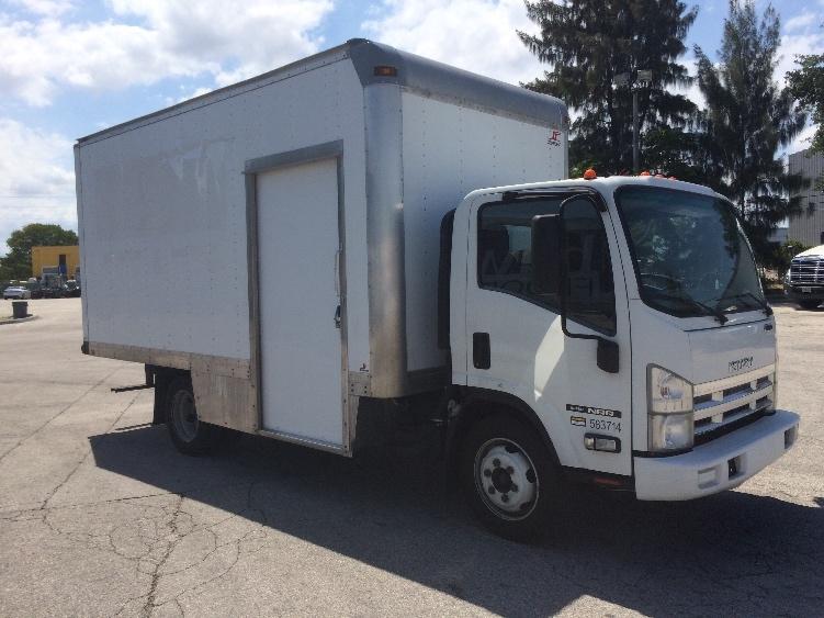 Medium Duty Box Truck-Light and Medium Duty Trucks-Isuzu-2010-NRR-POMPANO BEACH-FL-103,416 miles-$26,000