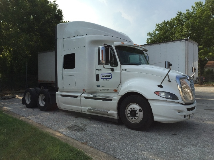 Sleeper Tractor-Heavy Duty Tractors-International-2011-ProStar-HAMMOND-LA-580,503 miles-$32,750
