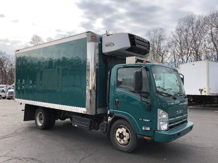 Reefer Truck-Light and Medium Duty Trucks-Isuzu-2012-NQR-BRAINTREE-MA-58,290 miles-$33,000