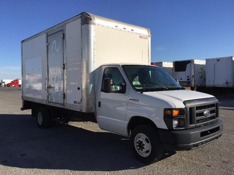 Light Duty Box Truck-Light and Medium Duty Trucks-Ford-2011-E450-SAN ANTONIO-TX-77,805 miles-$19,250