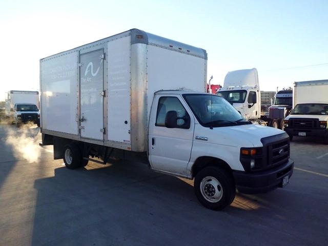 Light Duty Box Truck-Light and Medium Duty Trucks-Ford-2011-E450-ARLINGTON-TX-137,377 miles-$11,500
