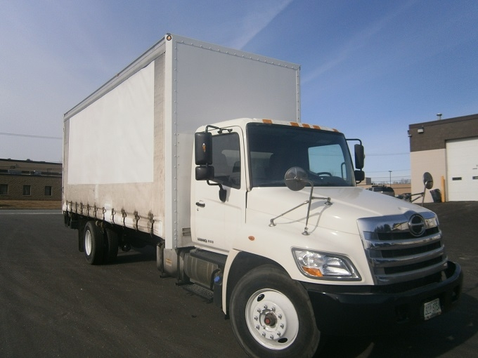 Medium Duty Box Truck-Light and Medium Duty Trucks-Hino-2012-268-HUDSON-NH-220,600 miles-$27,000