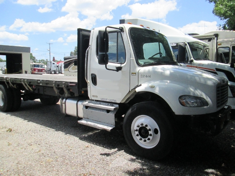 Flatbed Truck-Light and Medium Duty Trucks-Freightliner-2012-M2-TAMPA-FL-292,400 miles-$10,000