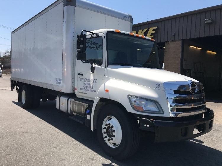 Medium Duty Box Truck-Light and Medium Duty Trucks-Hino-2012-338-NORTH BERGEN-NJ-165,933 miles-$25,250