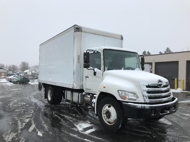 Medium Duty Box Truck-Light and Medium Duty Trucks-Hino-2012-268-ALLENTOWN-PA-78,277 miles-$35,500
