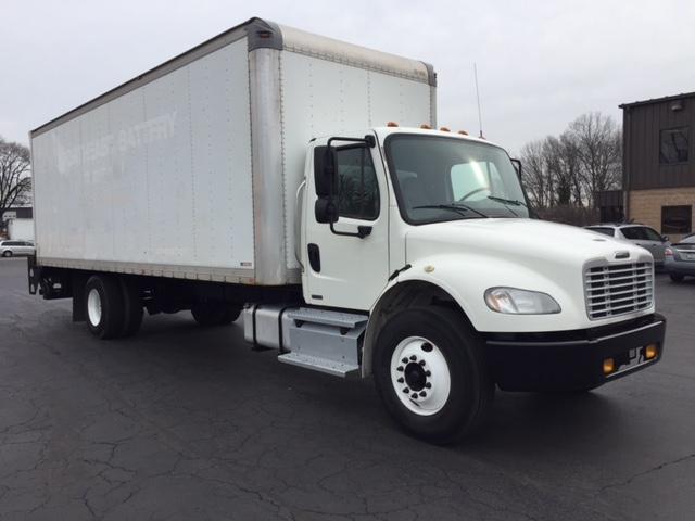 Medium Duty Box Truck-Light and Medium Duty Trucks-Freightliner-2012-M2-PENNSAUKEN-NJ-292,827 miles-$24,000