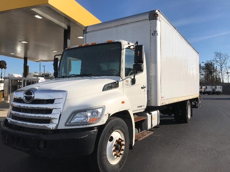 Medium Duty Box Truck-Light and Medium Duty Trucks-Hino-2012-268-NORTON-MA-117,300 miles-$39,500