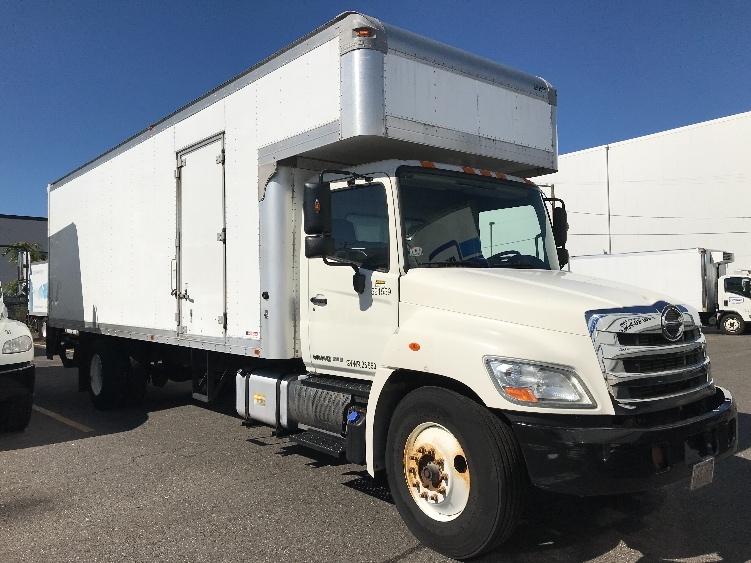 Medium Duty Box Truck-Light and Medium Duty Trucks-Hino-2012-268-MEDFORD-MA-129,795 miles-$39,250