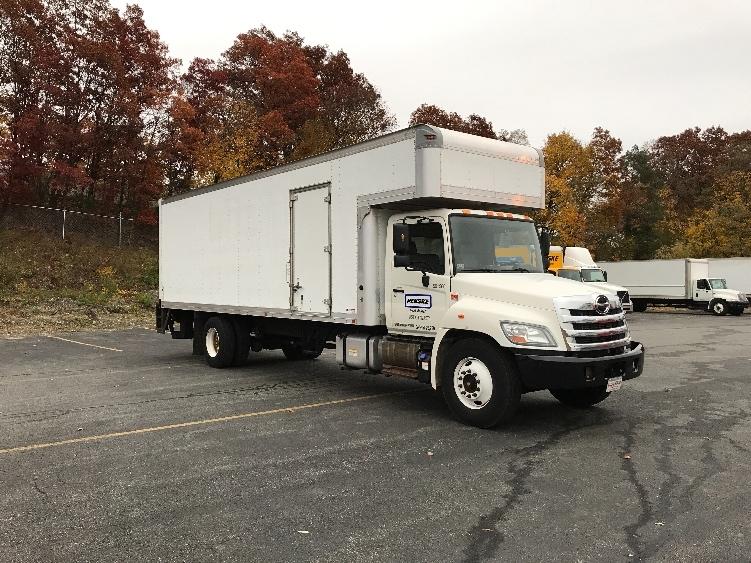 Medium Duty Box Truck-Light and Medium Duty Trucks-Hino-2012-268-MEDFORD-MA-127,006 miles-$39,500