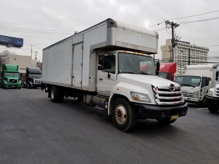 Medium Duty Box Truck-Light and Medium Duty Trucks-Hino-2012-268-NORTH BERGEN-NJ-117,605 miles-$43,500