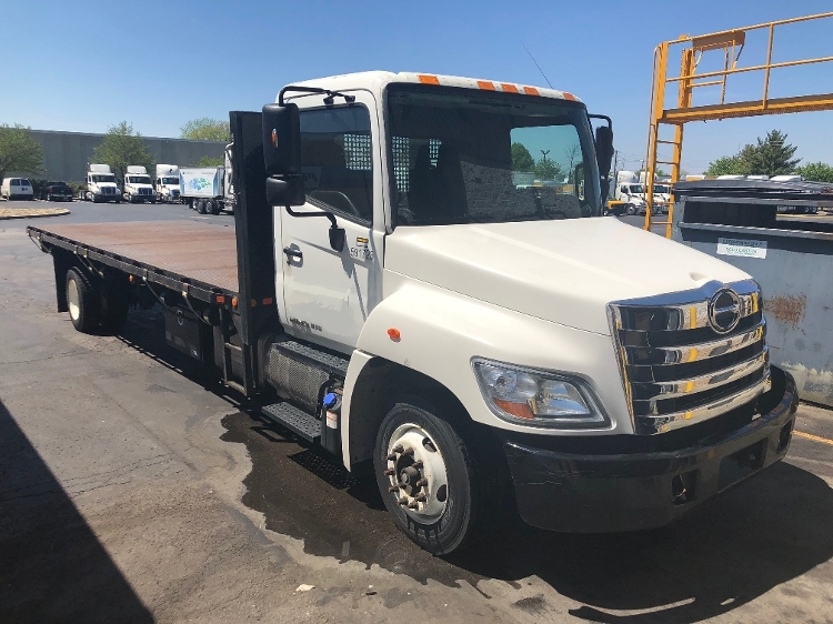 Flatbed Truck-Light and Medium Duty Trucks-Hino-2012-258LP-INDIANAPOLIS-IN-154,800 miles-$39,750