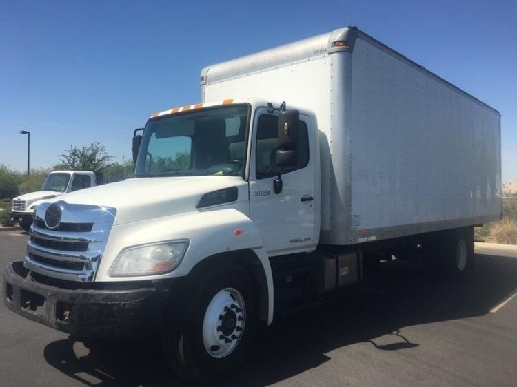 Medium Duty Box Truck-Light and Medium Duty Trucks-Hino-2012-268-PHOENIX-AZ-217,520 miles-$13,000
