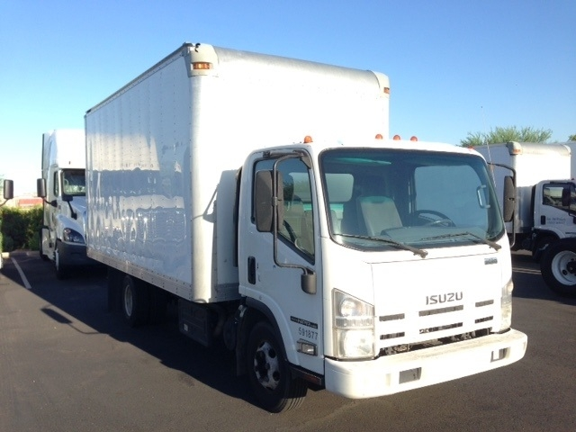 Medium Duty Box Truck-Light and Medium Duty Trucks-Isuzu-2012-NPR-PHOENIX-AZ-121,822 miles-$23,750