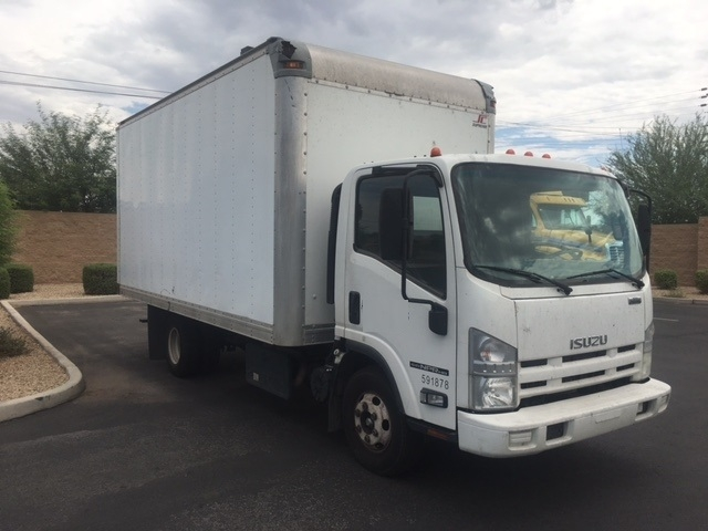 Medium Duty Box Truck-Light and Medium Duty Trucks-Isuzu-2012-NPR-PHOENIX-AZ-135,751 miles-$22,500