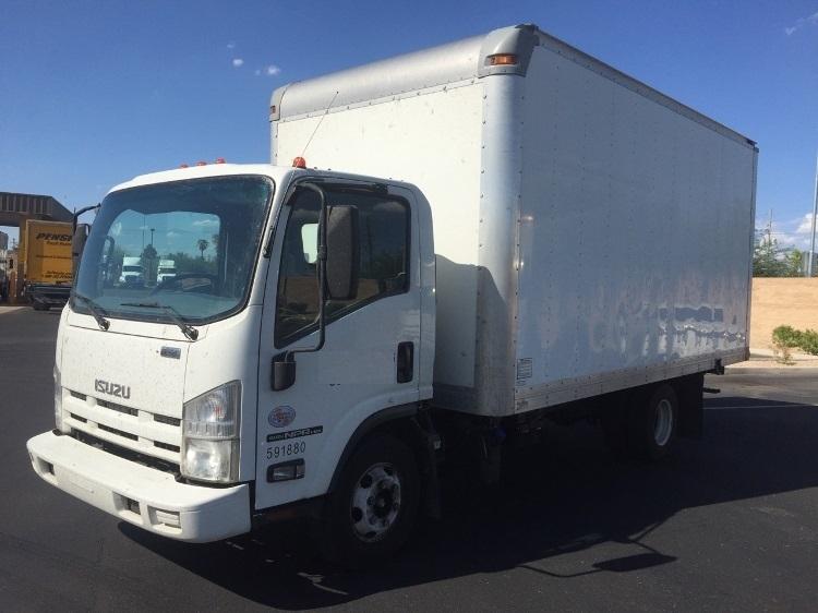 Medium Duty Box Truck-Light and Medium Duty Trucks-Isuzu-2012-NPR-PHOENIX-AZ-122,139 miles-$23,750