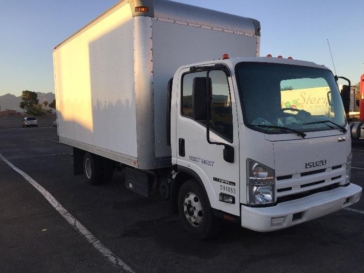 Medium Duty Box Truck-Light and Medium Duty Trucks-Isuzu-2012-NPR-TUCSON-AZ-91,210 miles-$25,500