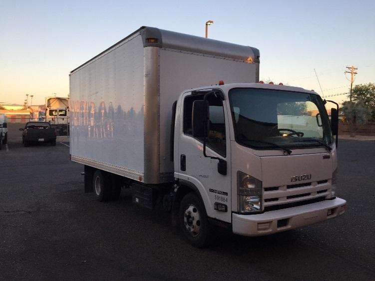 Medium Duty Box Truck-Light and Medium Duty Trucks-Isuzu-2012-NPR-PHOENIX-AZ-86,293 miles-$25,500