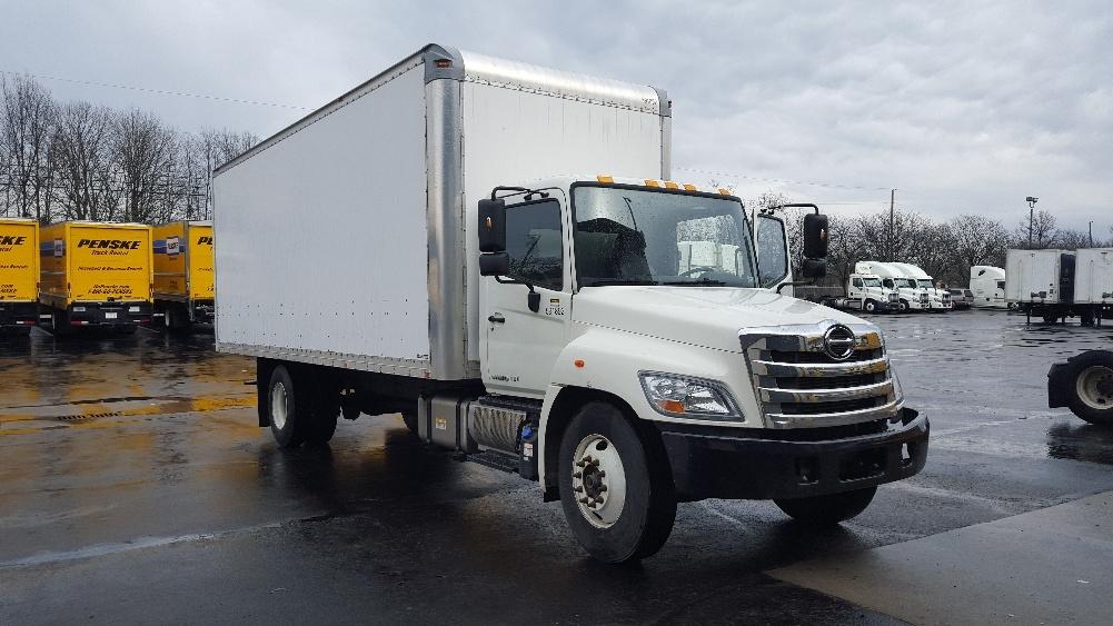 Medium Duty Box Truck-Light and Medium Duty Trucks-Hino-2012-268-LOUISVILLE-KY-89,371 miles-$37,750