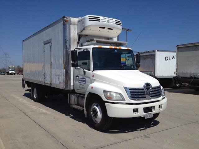 Reefer Truck-Light and Medium Duty Trucks-Hino-2010-338-DALLAS-TX-247,208 miles-$32,000