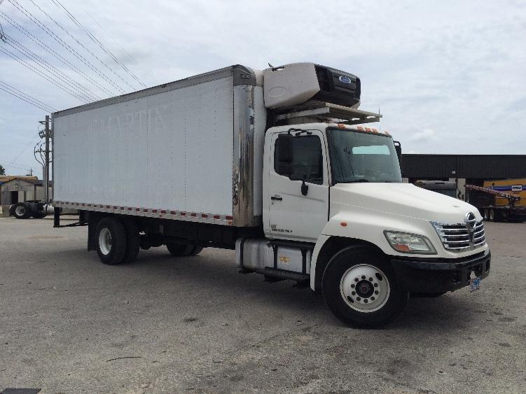 Reefer Truck-Light and Medium Duty Trucks-Hino-2010-338-HOUSTON-TX-158,087 miles-$37,250