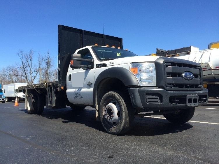 Flatbed Truck-Light and Medium Duty Trucks-Ford-2013-F550-BENSALEM-PA-66,927 miles-$37,250