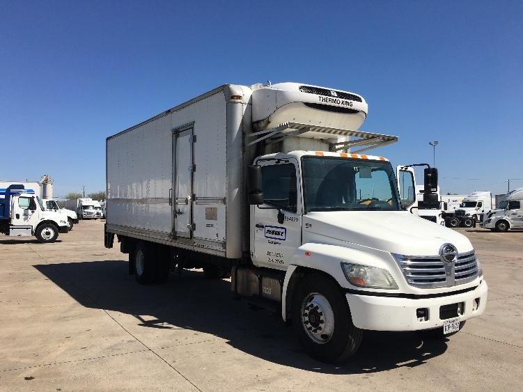 Reefer Truck-Light and Medium Duty Trucks-Hino-2010-268-DALLAS-TX-175,489 miles-$38,750