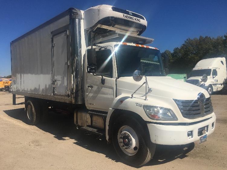 Reefer Truck-Light and Medium Duty Trucks-Hino-2010-268-DALLAS-TX-246,573 miles-$33,500