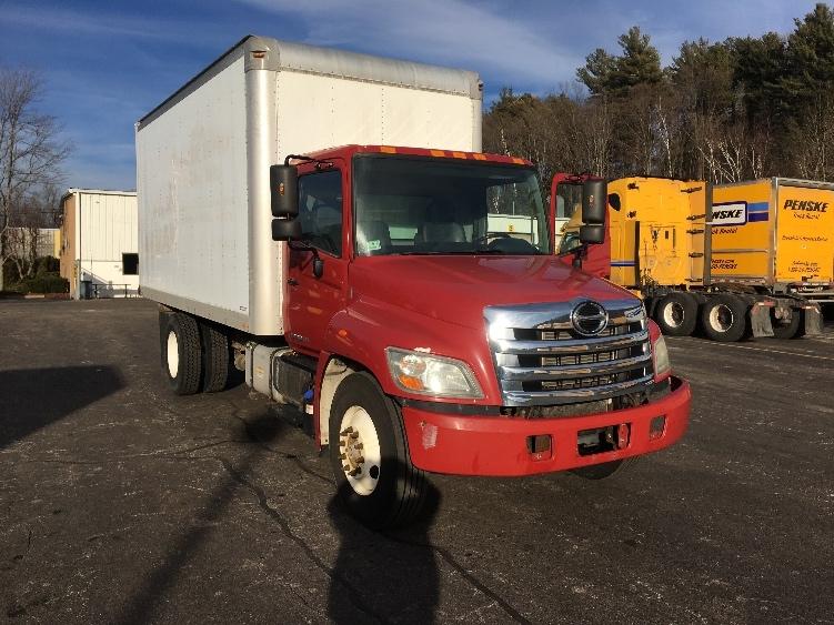 Medium Duty Box Truck-Light and Medium Duty Trucks-Hino-2011-268-AUBURN-MA-154,184 miles-$29,000