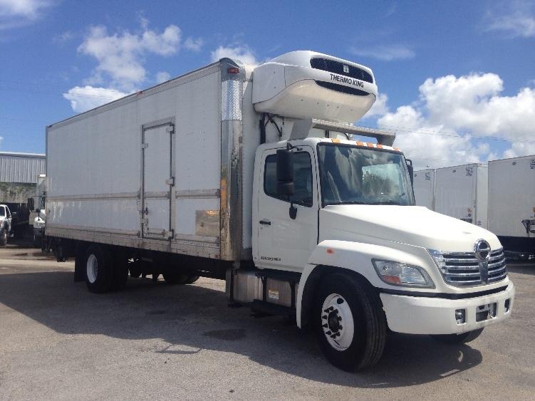 Reefer Truck-Light and Medium Duty Trucks-Hino-2010-338-MIAMI-FL-177,113 miles-$29,250