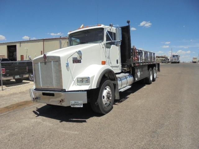 Flatbed Truck-Heavy Duty Tractors-Kenworth-2011-T800-ODESSA-TX-354,384 miles-$64,500