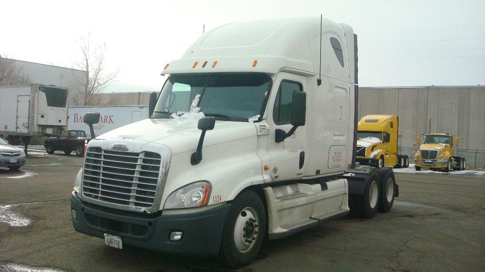 Sleeper Tractor-Heavy Duty Tractors-Freightliner-2011-Cascadia 12564ST-DENVER-CO-600,260 miles-$33,750
