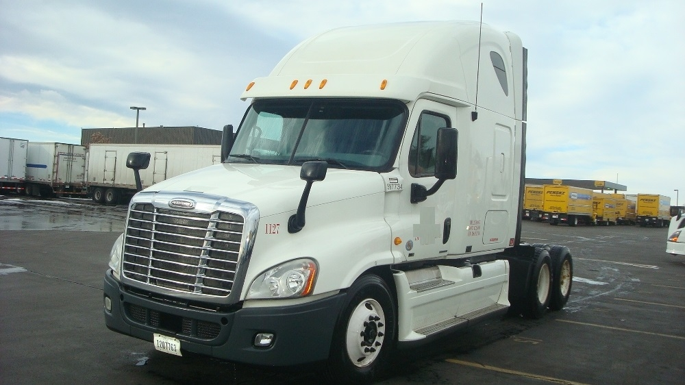 Sleeper Tractor-Heavy Duty Tractors-Freightliner-2011-Cascadia 12564ST-DENVER-CO-611,652 miles-$31,750