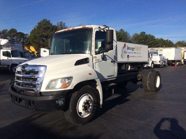 Reefer Truck-Light and Medium Duty Trucks-Hino-2011-268-CONYERS-GA-195,496 miles-$32,250